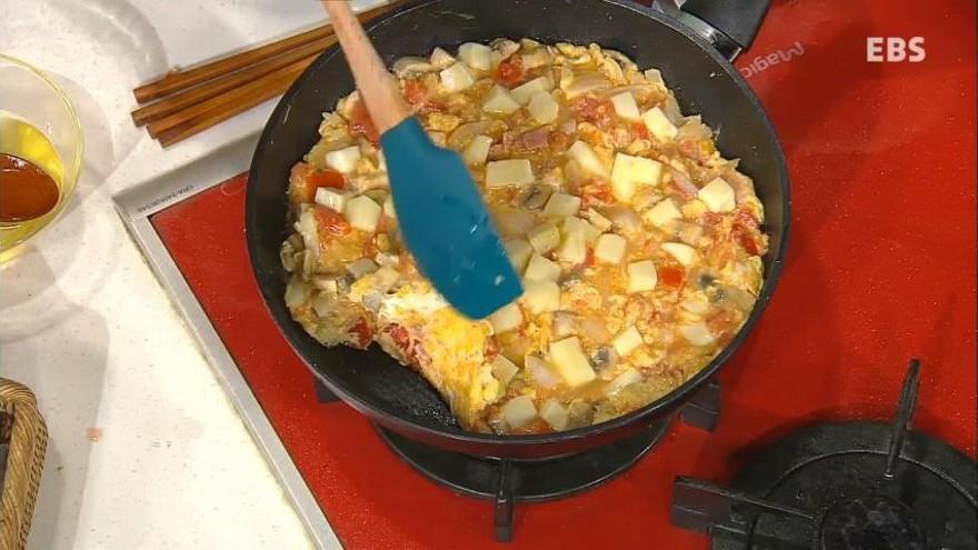 <최경숙의입맛살고군침나는밥상> 달걀샐러드피자