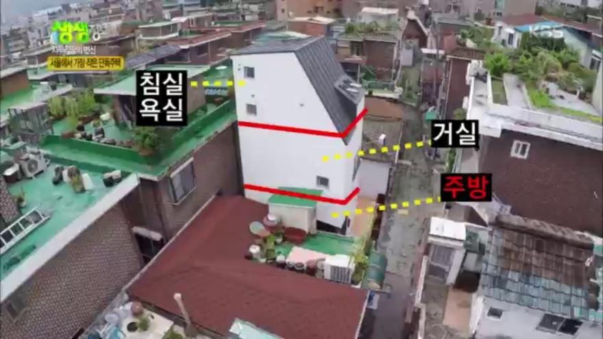자투리땅의 변신, 서울에서 가장 작은 단독주택