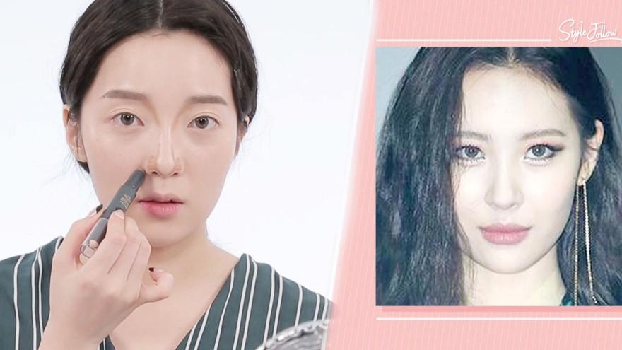 [스타 시크릿] 킴닥스, 가시나 뮤비 속 '선미 메이크업' 따라잡기!